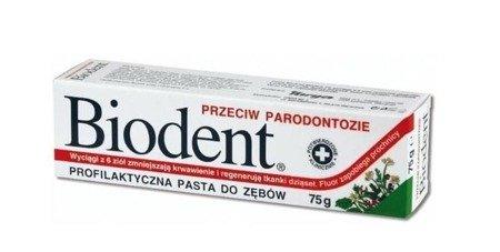 Biodent Pasta przeciw paradontozie 75G