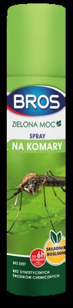 Bros Spray na komary i kleszcze 90ml Zielona Moc