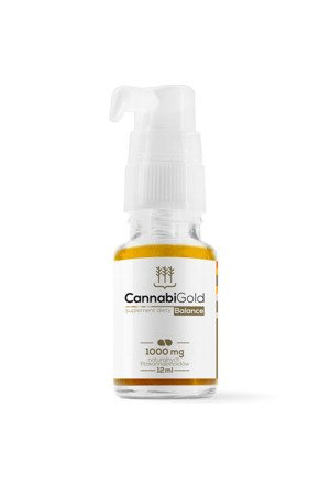 CannabiGold Balance 12 ml, 1000 mg CBD