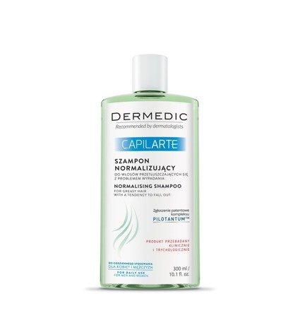 Dermedic Capilarte szampon normalizacyjny, wypadanie włosów 300ml