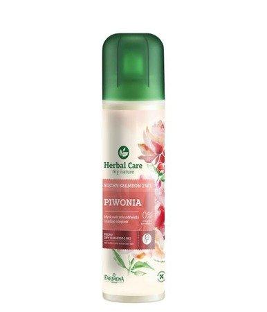 Farmona Suchy szampon 2 w 1 Piwonia