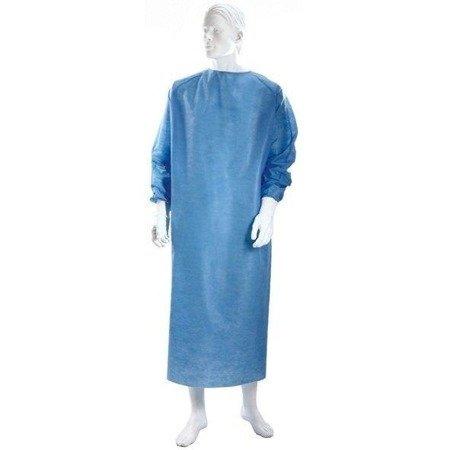 Fartuch Chirurgiczny niejałowy niebieski 10 SZT