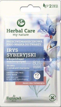 Herbal Care Maseczka przeciwzmarszczkowa IRYS SYBERYJSKI 2x5 ml