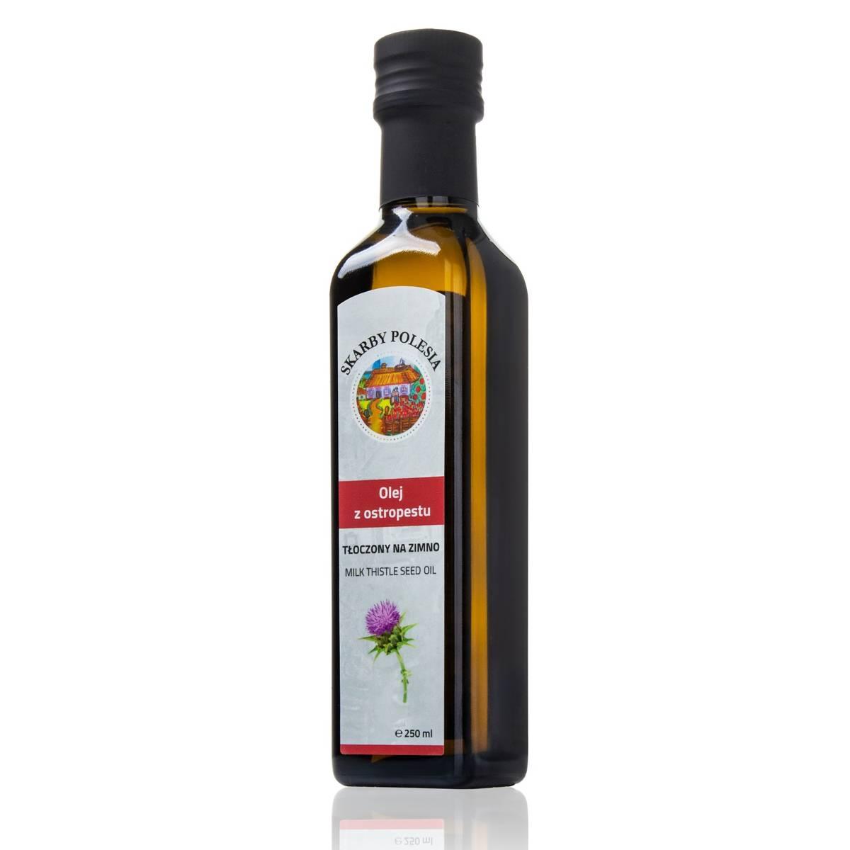 India Naturalny olej z ostropestu tłoczony na zimno 250 ml