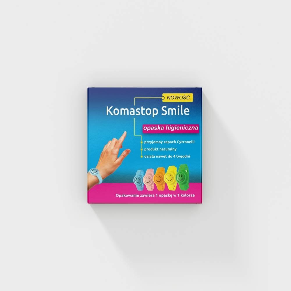 Intec opaska higieniczna Komastop Smile żółta