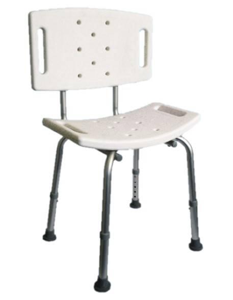 Krzesło Prysznicowe z Oparciem Ar-203