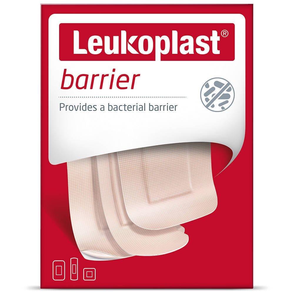 Leukoplast plaster barier 22x72mm,38x63mm,38x38mm mix 20 szt