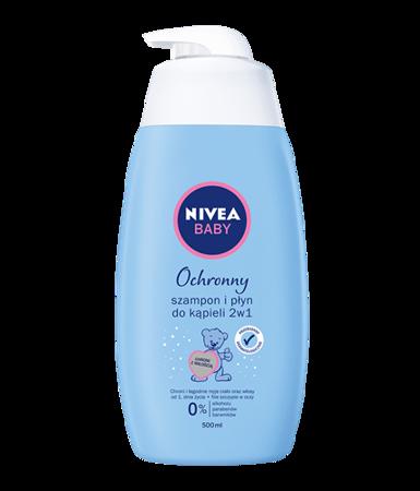 Nivea Baby Disney TODDIES szampon i płyn do kąpieli 2w1 do skóry normalnej 500ml z pompką