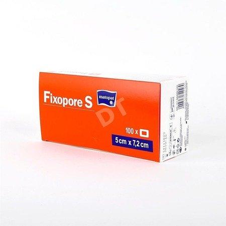 Opatrunek medyczny Fixopore S 5x7,2cm 100 SZT