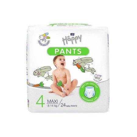Pieluchomajtki dla dzieci Happy Maxi pants 24 szt (8-14 kg)