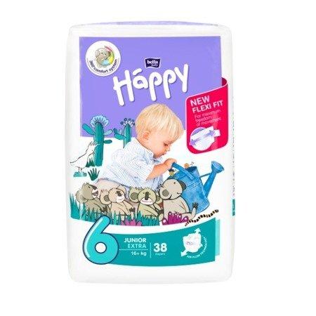 Pieluszki dla dzieci Happy Junior Extra 38 SZT