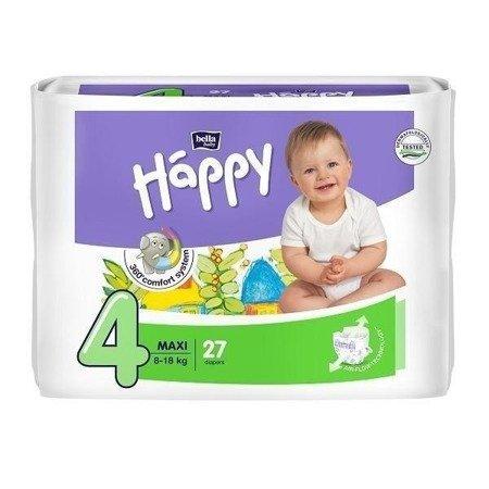 Pieluszki dla dzieci Happy Maxi 27 SZT