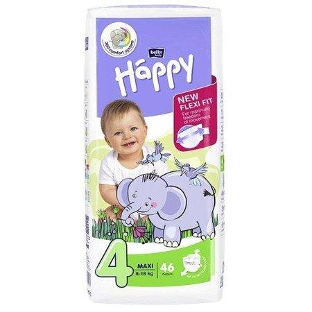 Pieluszki dla dzieci Happy Maxi 46 SZT