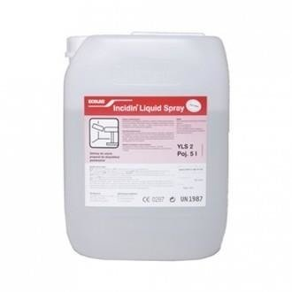 Płyn Bakteriobójczy Incidin Liquid Spray 5L