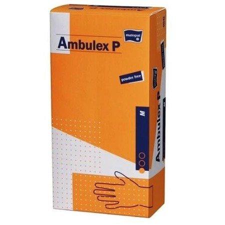 Rękawice niejałowe Ambulex lateks niepudrowane