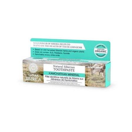 Siberica Natura pasta do zębów wzmacnia szkliwo Minerały Kamczatki 100g