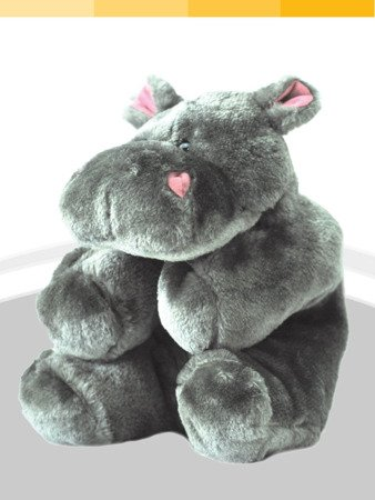 Termofor gumowy Sanity hipopotam 0,7l