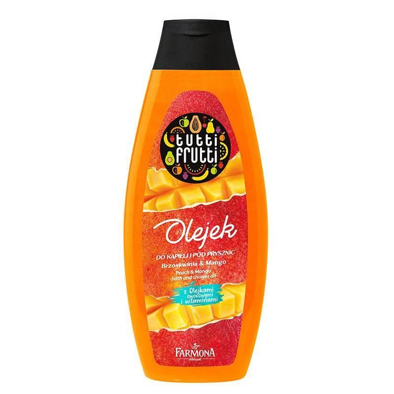Farmona Tutti Frutti olejek do kąpieli i pod prysznic mango i brzoskwinia 425ml