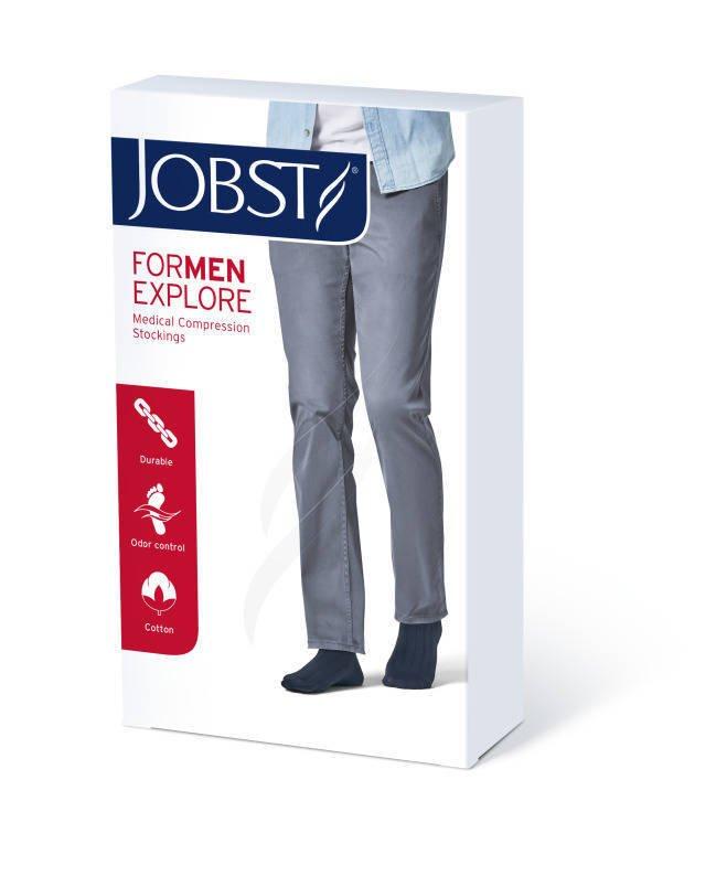 Jobst For Men Explore podkolanówki zamknięte palce ccl1 czarny 3
