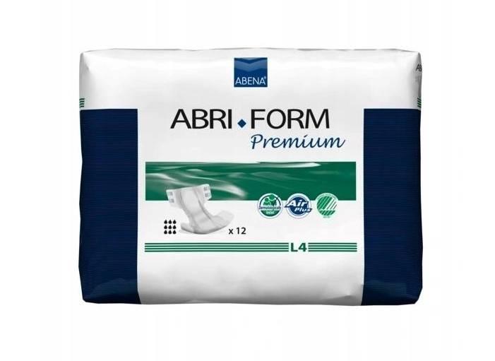 Pieluchomajtki Abena abri form L4 premium 12 szt