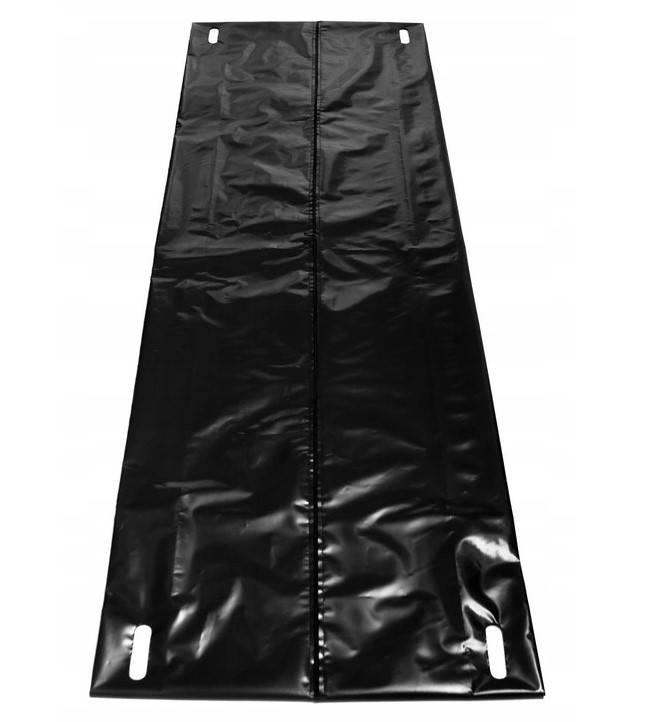 Worek na zwłoki z folii czarny 90x220cm z zamkiem