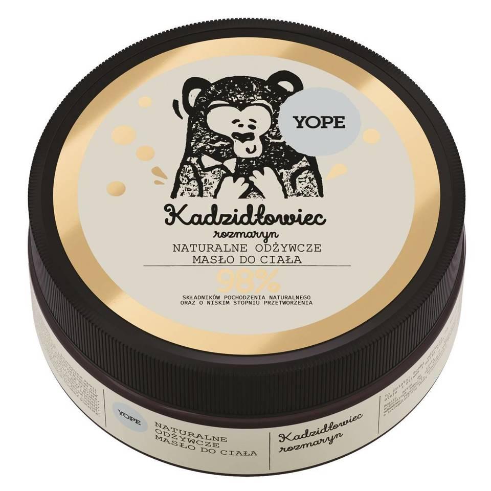 YOPE masło do ciała kadzidłowiec i róża 200 ml