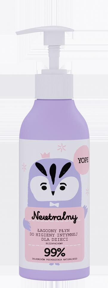 YOPE płyn do higieny intymnej dla dzieci neutralny 300 ml